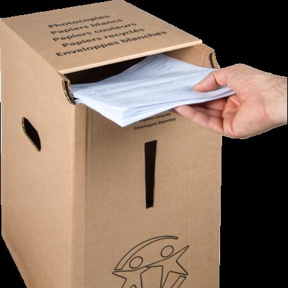 ACTION 3 : Collecteur papier, on s'équipe